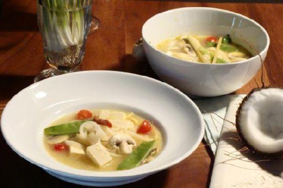Spicy Lemongrass Soup