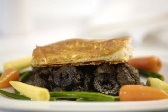 Steak and Kidney Pie With Port and Pickled Walnuts