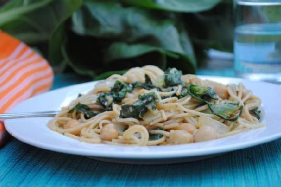 Swiss Chard Linguine