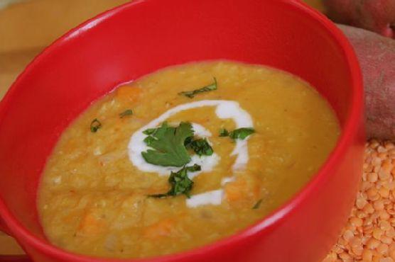 Thai Coconut Curry Lentil Soup