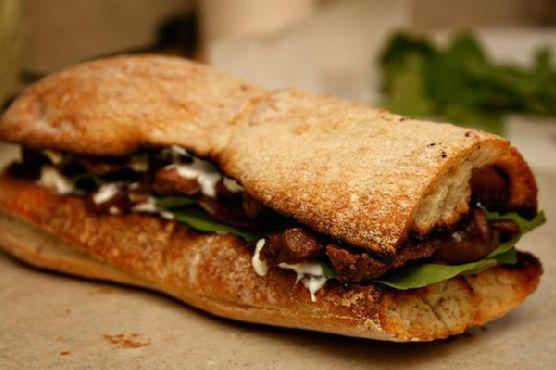 The Best Steak Sandwich