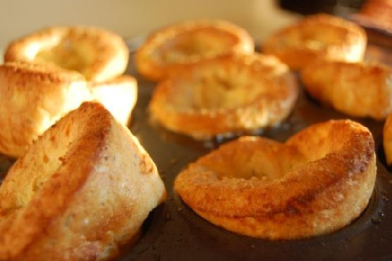 Thyme and Parmesan Popover