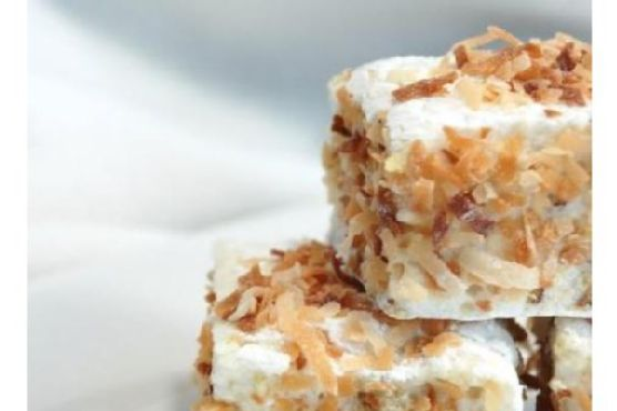 Toasted Tropical Marshmallows