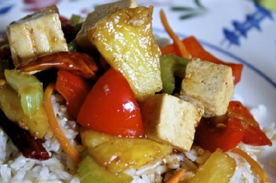 Tofu Pineapple Stir-Fry