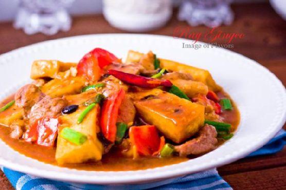 Tokwa Baboy (Braised Tofu With Pork)