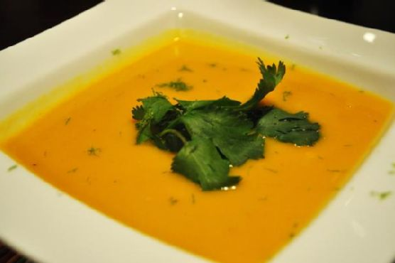Tropical Butternut Squash Soup
