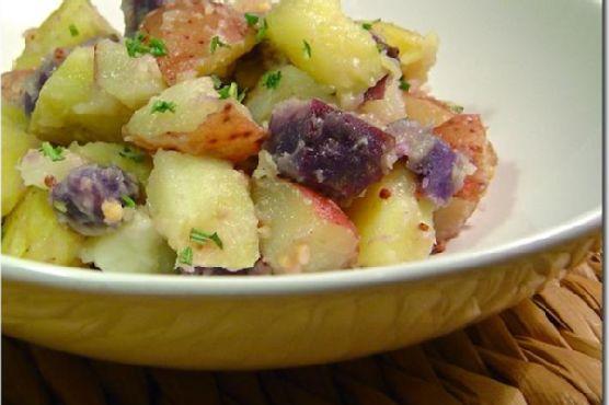 Warm Confetti Potato Salad