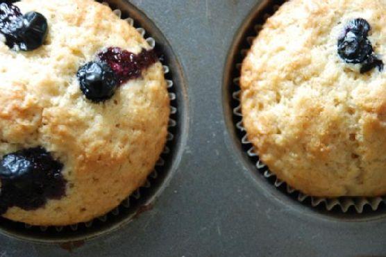 Zomppa's Blueberry Muffins