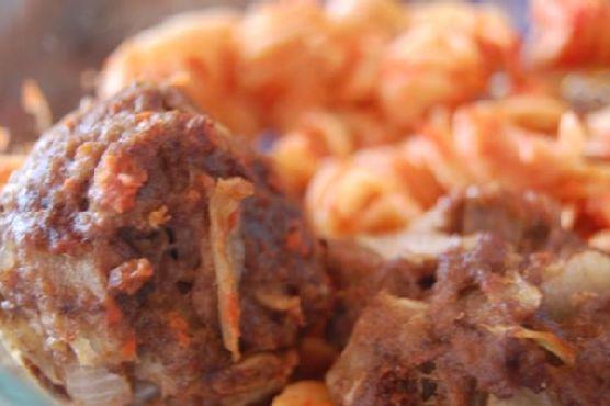 Zomppa's Moroccan Meatballs