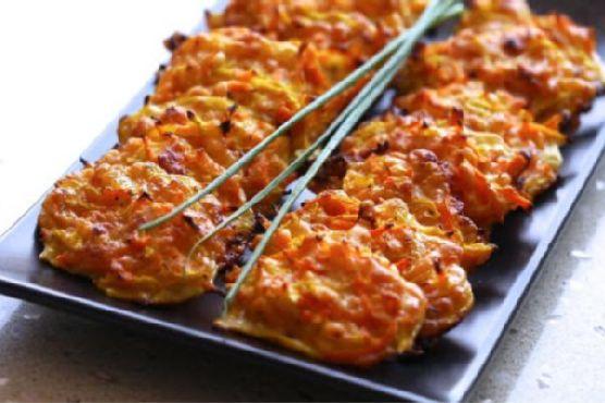 Zucchini and Carrot Crunch