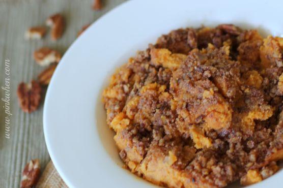 Sweet Potato Casserole Gourmet & Holiday Baking