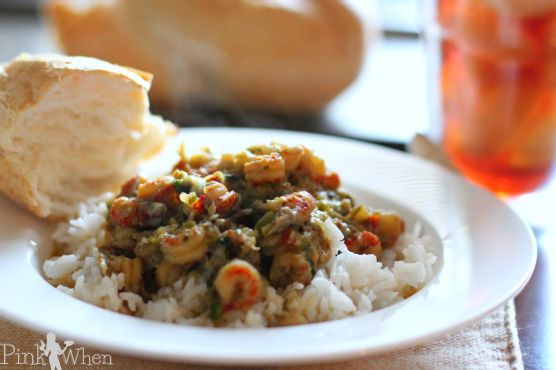 Cajun Louisiana Style Crawfish Etouffee