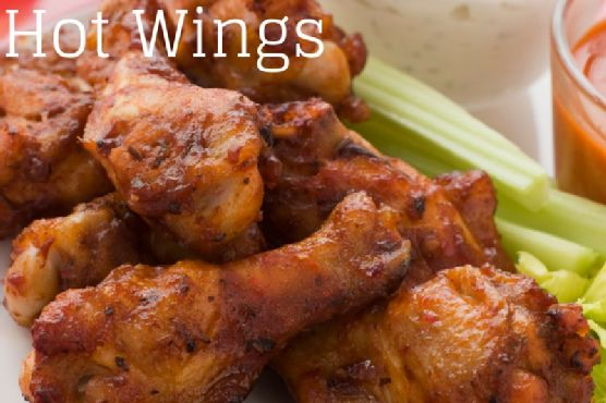 Slow Cooker Spicy Hot Wings
