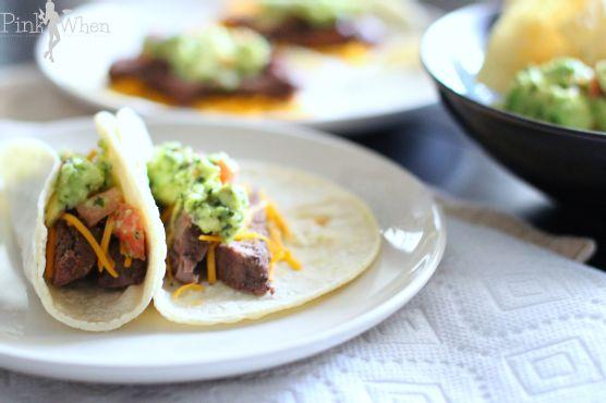Filet Mignon Soft Tacos