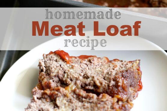 Homemade Meatloaf (Like Grandma Made!)