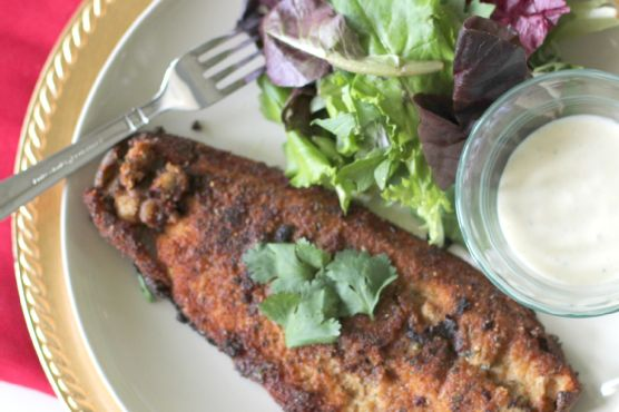 Delicious Pan Fried Trout