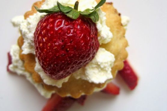 Strawberry Shortcake w. Mini Strawberry PopTarts