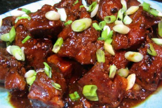 Crock-Pot: Asian-Style Country Ribs with Black Bean Garlic Sauce