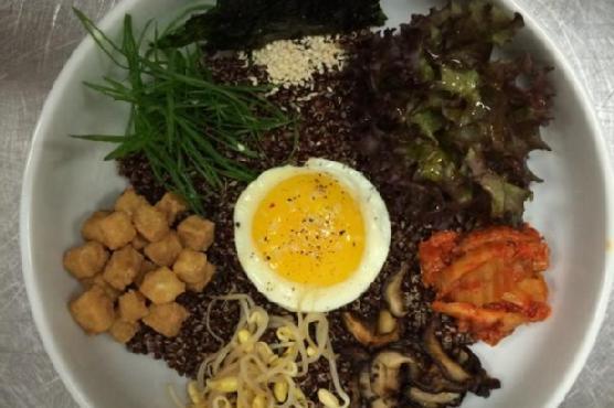 Korean Quinoa Bowl