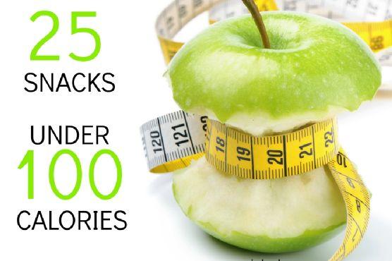 Simple Healthy Snacks UNDER 100 Calories