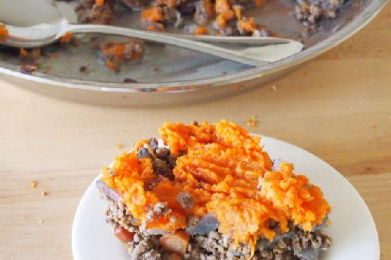 Sweet Potato Shepherd's Pie + Blogiversary