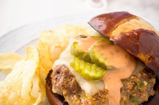 Spicy Salsa Burger Video