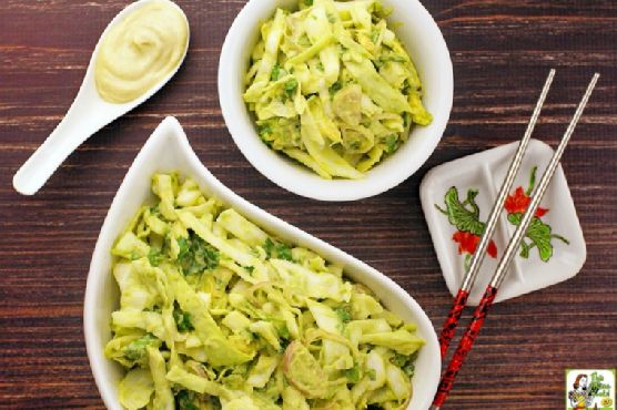 Spice up your Memorial Day cookout with Wasabi Cole Slaw