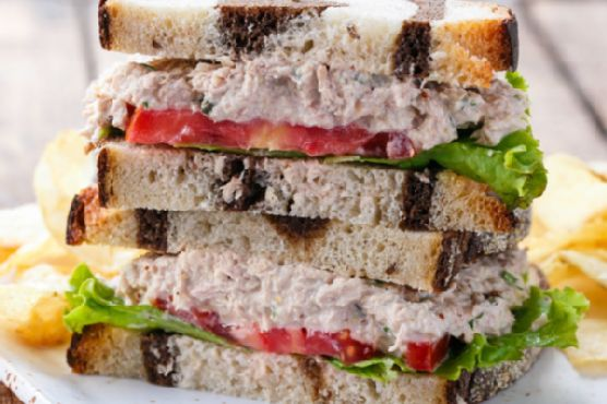 Taylor's Best Tuna Salad Sandwich