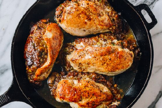 stuffed breasts Rice chicken