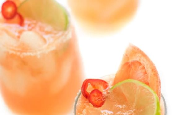 Spicy Grapefruit Paloma