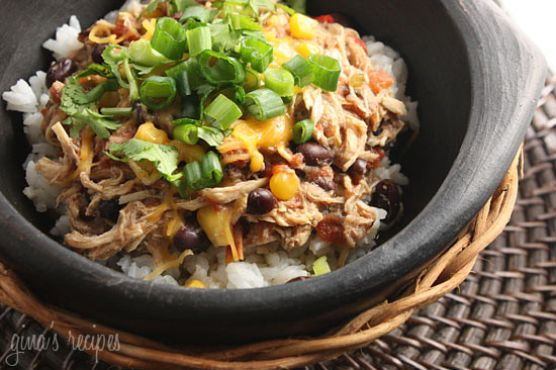 Crock Pot Santa Fe Chicken