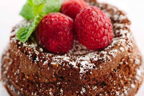 Classic Chocolate Molten Lava Cake