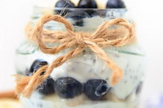 Blueberry and Banana Chia Pudding