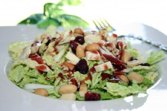 Sweet and Tangy Balsamic Salad (With Honey Roasted Peanuts)