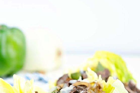 Cheesesteak Lettuce Cups
