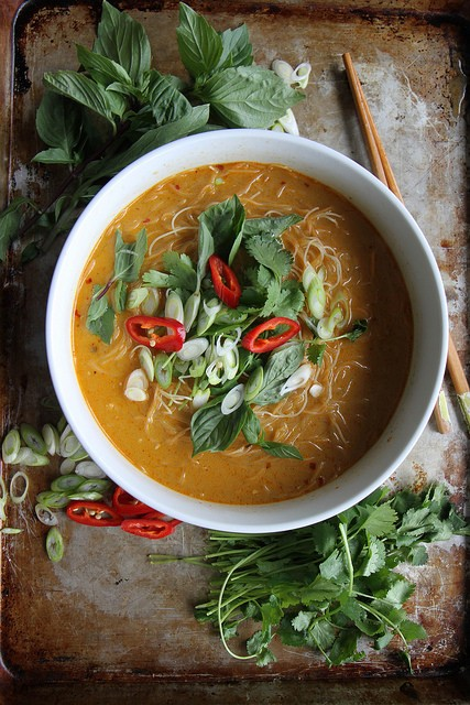 Spicy Thai Curry Noodle Soup Spicy Thai Curry Noodle Soup