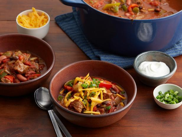 Hearty Sirloin Chili