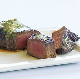 sauce halibut with lemon butter caper and dill sauce pan seared steak ...