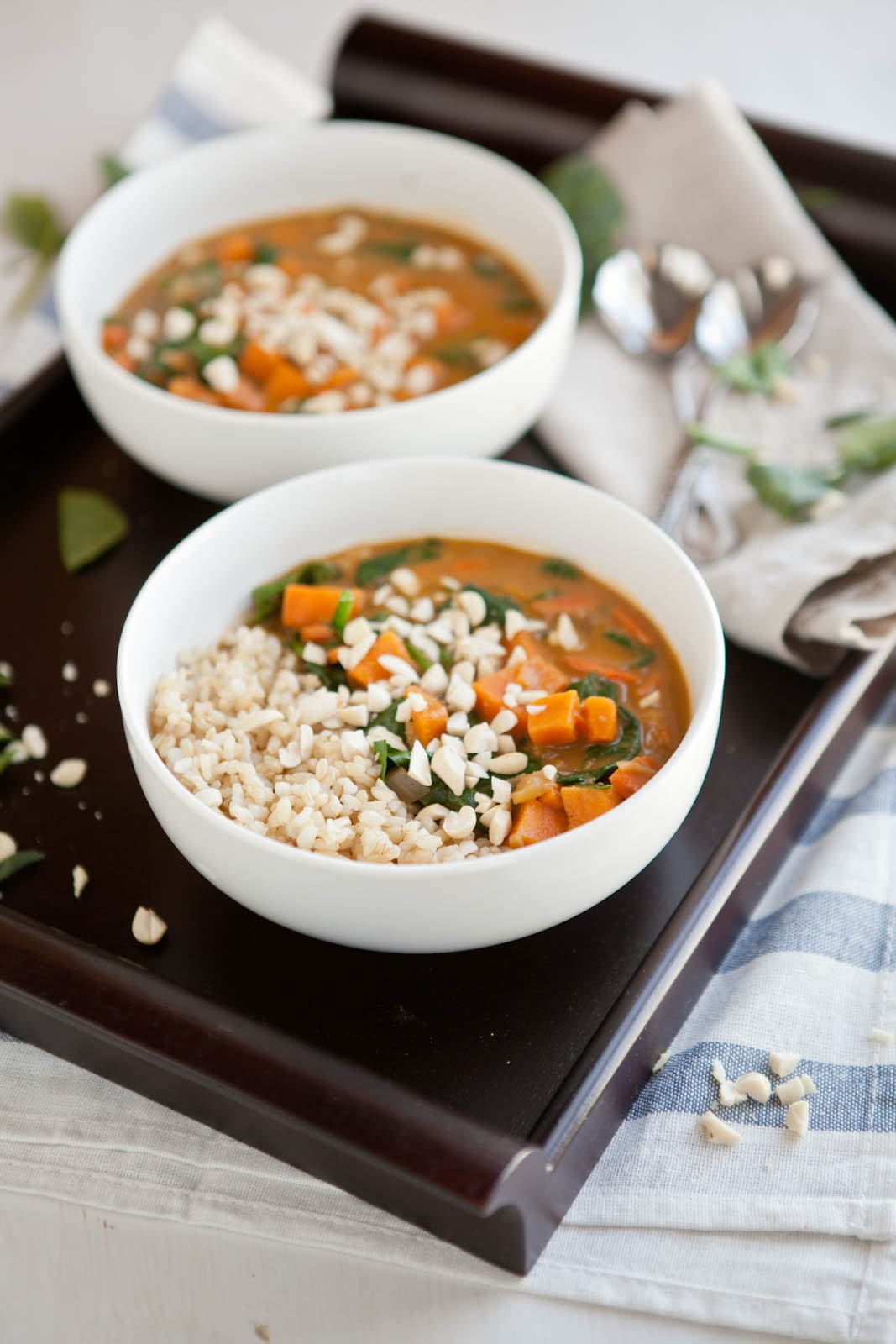 peanut stew with african peanut stew with sweet sweet potato spinach ...