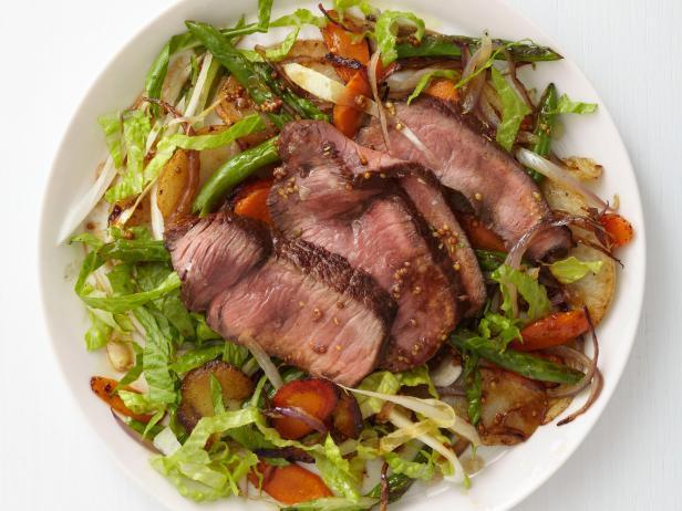 Салат из мяса говядины с фото